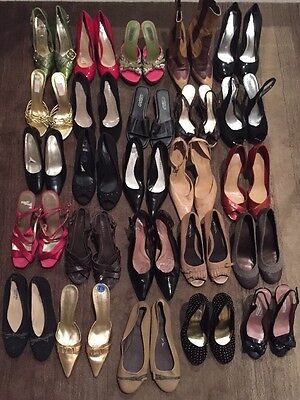 Large Lot 25~ Ready For Resale Shoes Heels Designer Department Store Name Brand