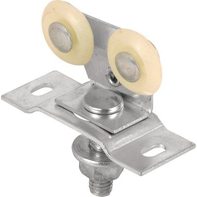 Slide-Co 162168 Pocket Door Top Roller Assembly with 7/8-Inch Nylon Wheel