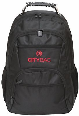 "City Bag Rucksack 15.6"" Laptop Backpack School Bag Business College Case"