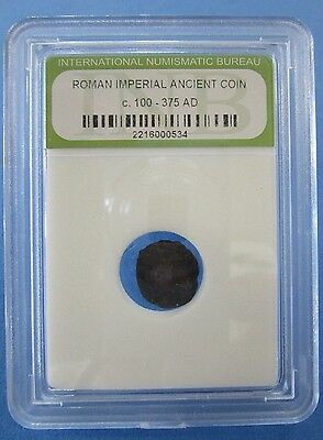 Roman Imperial Ancient Cased Coin  c. 100 - 375 AD