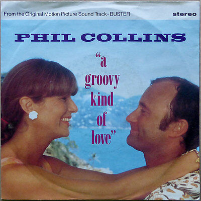 """7"""" Phil Collins - A Groovy Kind Of Love - Europa 1988 - NM"""