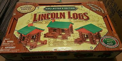 New LINCOLN LOGS Collector's Edition 151 Piece Set