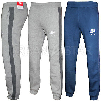 New Mens Nike Air Fleece Joggers, Tracksuit Bottoms, Track Sweat Jogging Pants