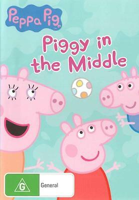 Peppa Pig: Piggy in the Middle  - DVD - NEW Region 4