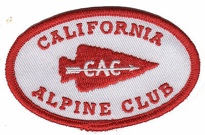 California Alphine Club PATCH - remake of historic patch logo design