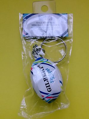 Rugby World Cup 2015 Mini Gilbert Rugby Ball Key Ring