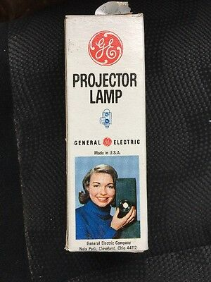 GE Projector Lamp Bulb CDK/CEA 120v 100w New Old Stock
