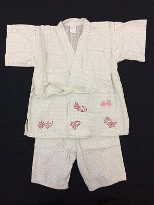 Japanese jinbei for 110cm tall boys, toddler, Japan import, used (J1133)