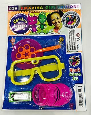 CBeebies Special Magazine #96 AMAZING GIFT EDITION! Nina's Science Set!