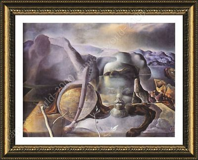 The Endless Enigma Face by Salvador Dali   Framed canvas   Wall art paint HD