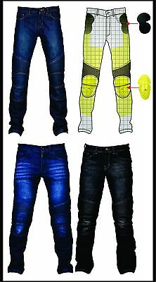 HB Riders Men's Motorbike Skinny Stretchable Jeans with Kevlar® Lining.