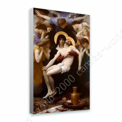 Pieta by William Bouguereau | Ready to hang canvas | Wall art artwork painting