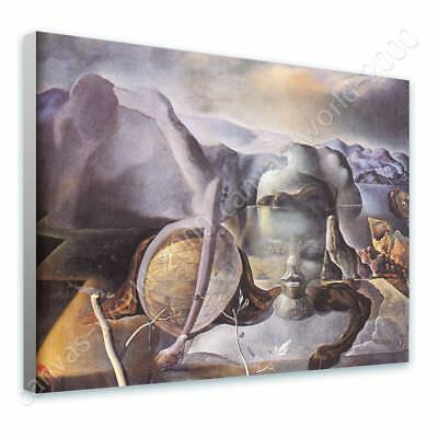 The Endless Enigma Face by Salvador Dali   Ready to hang canvas   Wall art HD