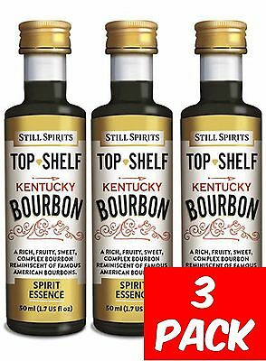 Still Spirits Top Shelf KENTUCKY BOURBON - 3 Pack - Liqueurs, Homebrew