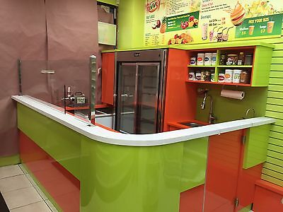 Custom Smoothie Juice Bar Furniture - Top Quality - Colorful