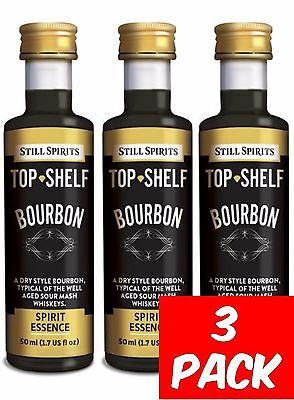 Still Spirits Top Shelf BOURBON - 3 Pack - Liqueurs, Schnapps, Home brew