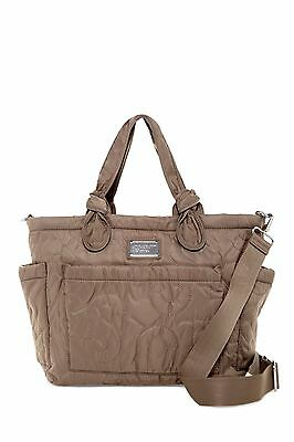 Marc by Marc Jacobs Quilted Nylon Eliza Baby Diaper Tote Bag - Quart Grey $198