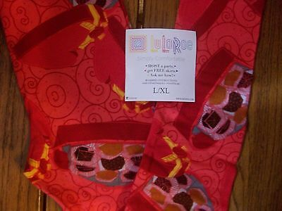 lularoe kids l/xl leggings nwt candy boxes valentines red