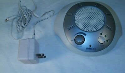 HoMedics (SS-2000) Sound Spa Portable Relaxation Machine & Power Supply (BD30)