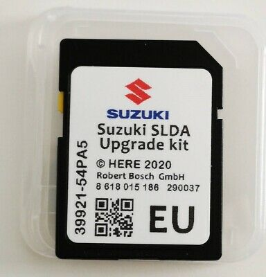 Suzuki SLDA 2019 Navigation sd card Vitara SX4 Baleno Ignis Swift Eu Deutschland