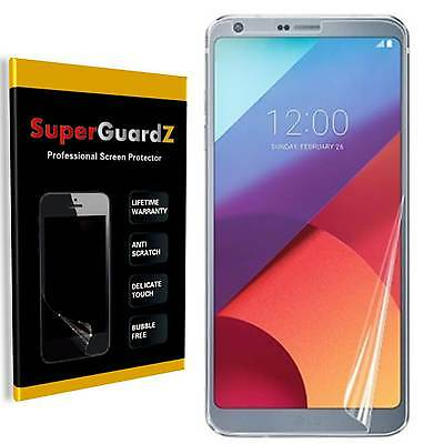 8X SuperGuardZ® Ultra Clear Screen Protector Guard Shield Armor Cover For LG G6