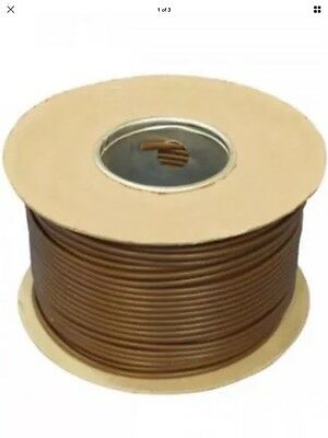 4.0mm Tri-Rated Cable in Brown - 100m on drum.