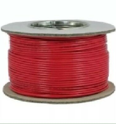 4.0mm Tri-Rated Cable in Red - 100m on drum.