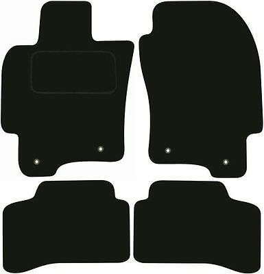 Jaguar X Type Left Hand Drive Tailored Deluxe Quality Car Mats 2001-2010