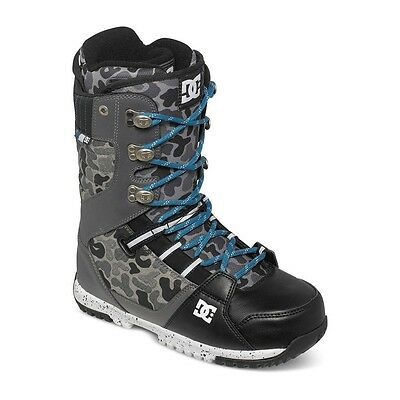 DC SHOES - MUTINY 2016 SNOWBOARD BOOTS - Charcoal/Camo UK 9.5 US 10.5