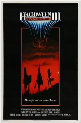 HALLOWEEN 3: SEASON OF THE WITCH -1982- Original ROLLED 27x41 Movie Poster -RARE