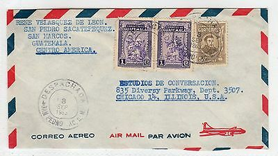 GUATEMALA: 1963 Air Mail cover to USA (C25303)