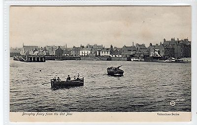 BROUGHTY FERRY FROM THE OLD PIER: Angus postcard (C24983)