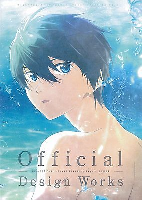 Free! High Speed Starting Days Official Art Book Artwork Iwatobi Swim Club Movie