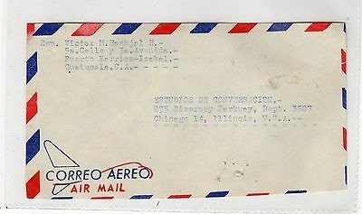 GUATEMALA: 1966 Air Mail cover to USA (C25240)