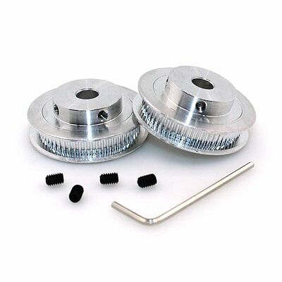 BIQU GT2 Synchronous Wheel 60 Teeth 8mm Bore Aluminum Timing Pulley for 3D 6mm