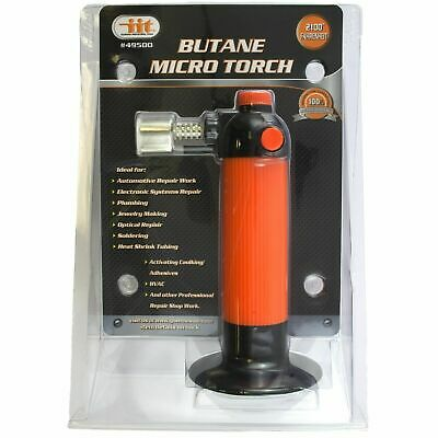 IIT 49500 Refillable Butane Micro Mini Torch Soldering Welding