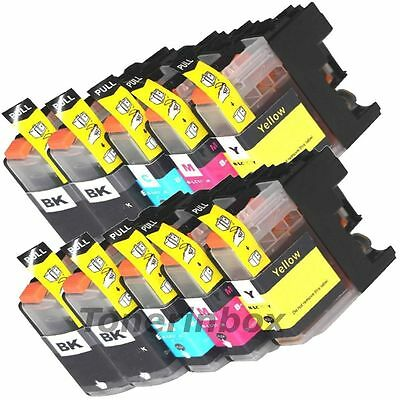 10 Non-Oem Ink Brother Lc-103 Xl Lc101 Mfc-J4610Dw Mfc-J470Dw Mfc-J4710Dw J475Dw