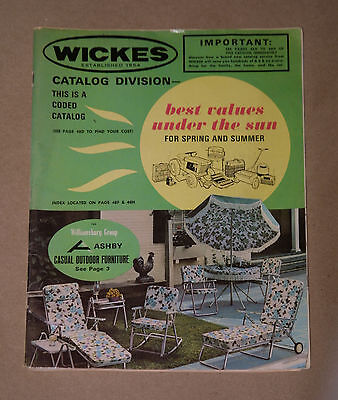 Vintage 1965 Wickes Lumber & Building Supply Center Retail Product Catalog
