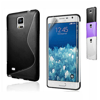 S Curve Gel Cover Case for Samsung Galaxy Note Edge SM-N915G
