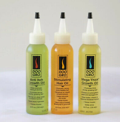 Doo Gro Anti Itch Mega Thick Stimulating Growth Oil 4.5 oz