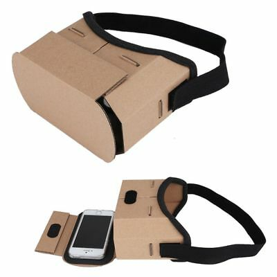 Google Cardboard 3D Glass VR Virtual Reality Headset For iPhone 5S 6S