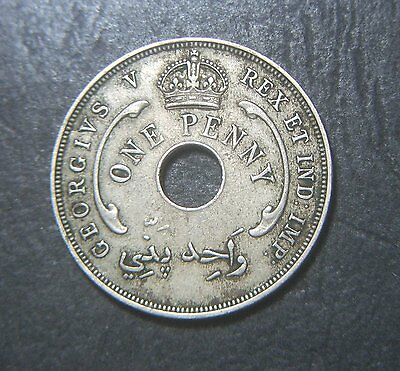 1928 West Africa 1d One penny