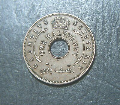 1952 West Africa One Half Penny