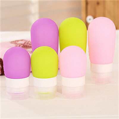 Good Silicone Travel Packaging Press Bottle for Bath Shampoo Lotion Container US