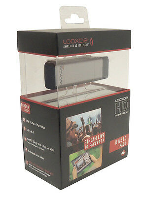 NEW Looxcie Basic Pack HD Full 1080P Video Camera Action Camcorder