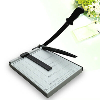 Professional Grade A4 Paper Cutter Trimmer Guillotine Heavy Duty Safety Guard