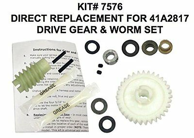 Liftmaster Gear Kit 41A2817 Direct Replacement Drive Gear & Worm Set