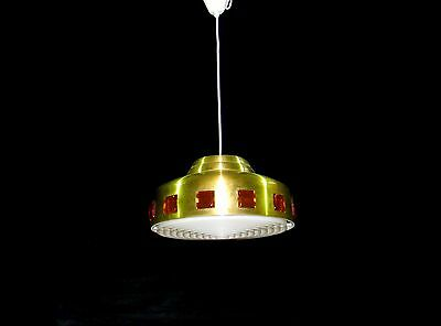 Vintage Retro Fixture Chandelier Ceiling Lamp Lighting 1960s