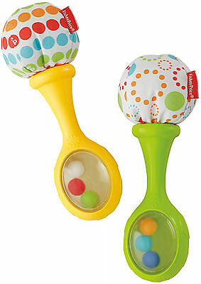 Fisher-Price Shake 'n Rattle and Rock Maracas Musical Toy