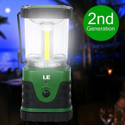 Dimmable  LED Lantern Camping Lamp Tent Work Lights Bulb USB Cable Rechargeable